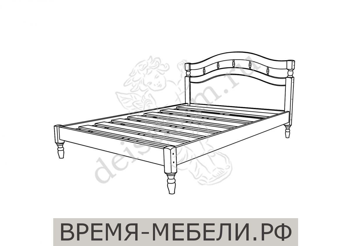 Кровать Наташа-М