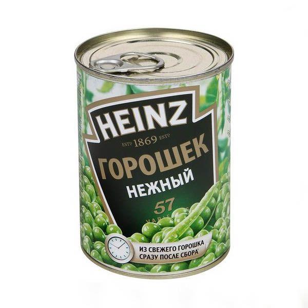 Горошек HEINZ Зеленый, 400 г
