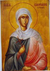 Икона Клеопатра Палестинская блаженная