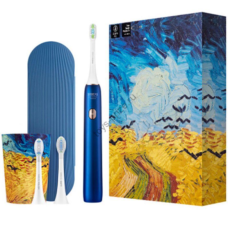 Электрическая зубная щетка Xiaomi Soocas X3U Ван-Гог Blue