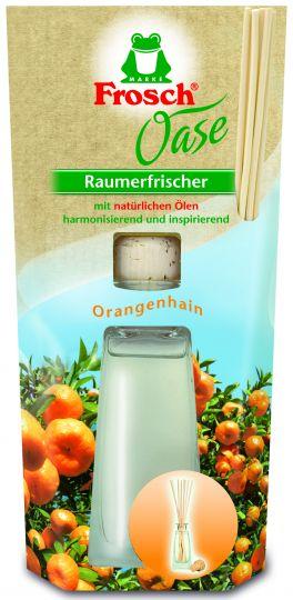 Frosch Освежитель воздуха на основе масел Апельсин 90 мл