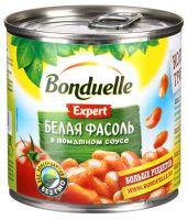 Фасоль BONDUELLE белая в томатном соусе, 400г