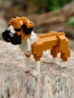 Конструктор Wisehawk & LNO собака Боксер 150 деталей NO. C1 Boxer Gift Series