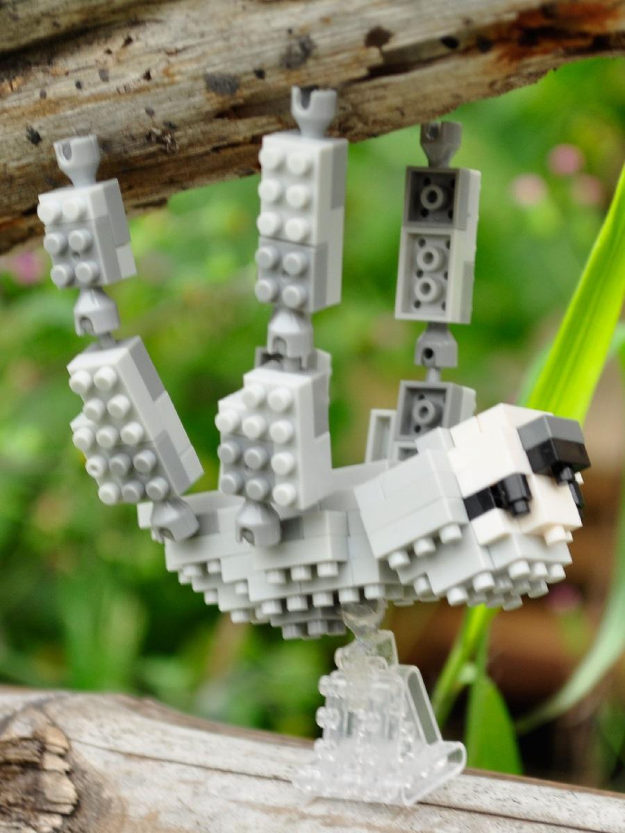 Конструктор Wisehawk & LNO Ленивец 120 деталей NO. B20 Sloth Gift Series