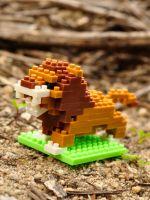 Конструктор Wisehawk & LNO Лев 108 деталей NO. B7 Lion Gift Series