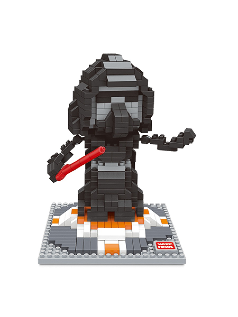 Конструктор Wisehawk & LNO Дарт Вейдер 491 деталей NO. 2404 Darth Vader mini blocks