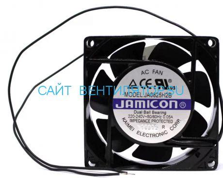 Вентилятор 80х25 220в JAMICON JA0825H2S010N-L-R