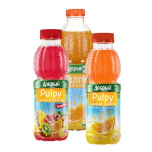 Напиток Палпи тропический 500 мл