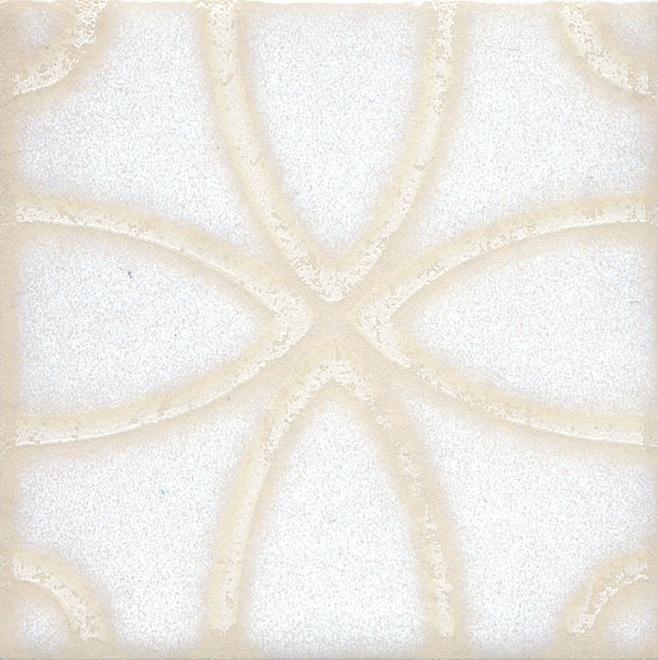 STG/B405/1266 | Вставка Амальфи орнамент белый
