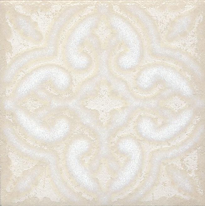 STG/B408/1266 | Вставка Амальфи орнамент белый