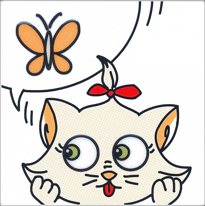 NT/A131/5009 | Декор Кошки-Мышки. Бабочка