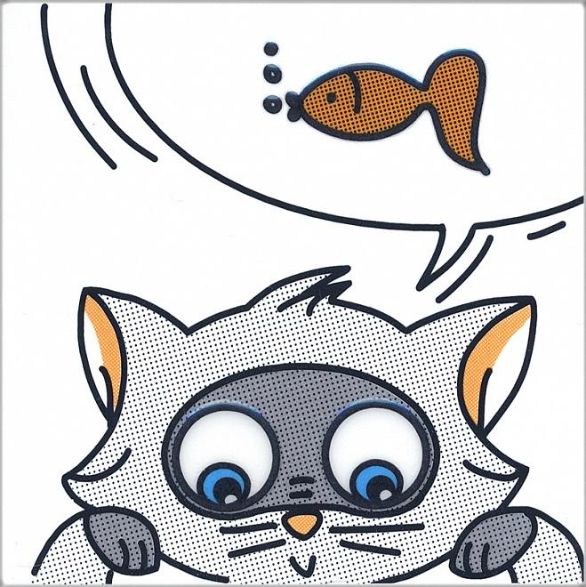 NT/A133/5009 | Декор Кошки-Мышки. Рыбка