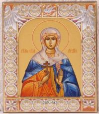 Икона Лидия Мученица (9х10,5см)
