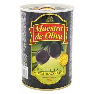 Маслины MAESTRO DE OLIVA Супергигантские с косточками, 425 гр