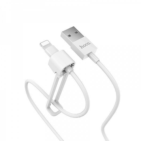 Кабель USB 2.4А HOCO X31 (iOS Lighting) 1м