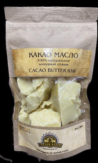 Какао масло натуральное, 200гр