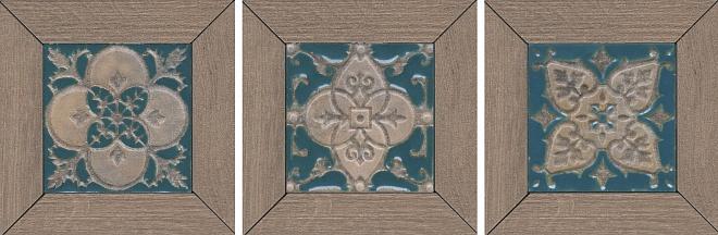 ID62 | Декор Меранти пепельный мозаичный