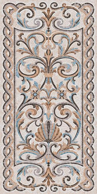 SG590802R   Мозаика беж декорированный лаппатированный