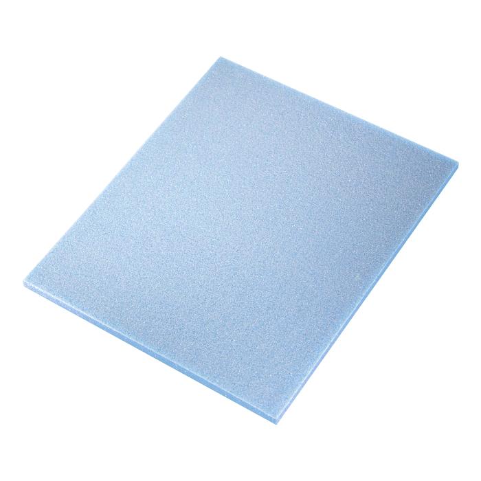 Sia ABR Абразивная губка Flat pad Microfine (Alox), односторонняя, 115мм. x 140мм. x 5мм., P1500