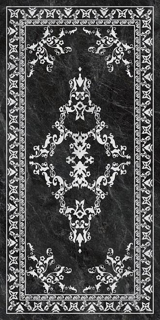 SG592702R | Риальто серый тёмный декорированный лаппатированный