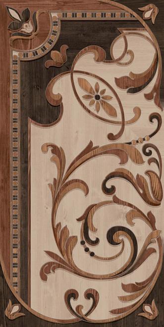 DD570800R | Гранд Вуд декорированный правый обрезной