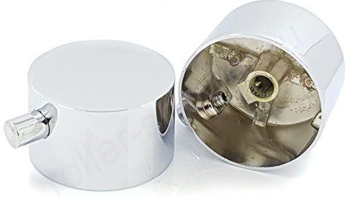 Ручка для смесителя душевой кабины для  переключения режимов SK01 (хром, металл)