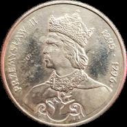 100 злотых Польша 1985 - Король Пшемыслав II (Przemysł(aw) II) 1295-1296