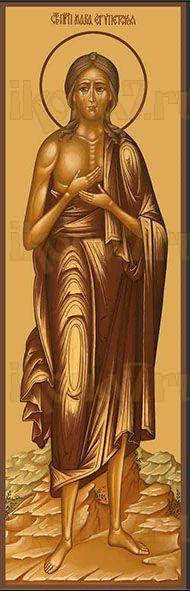 Икона преподобная Мария Египетская (мерная)