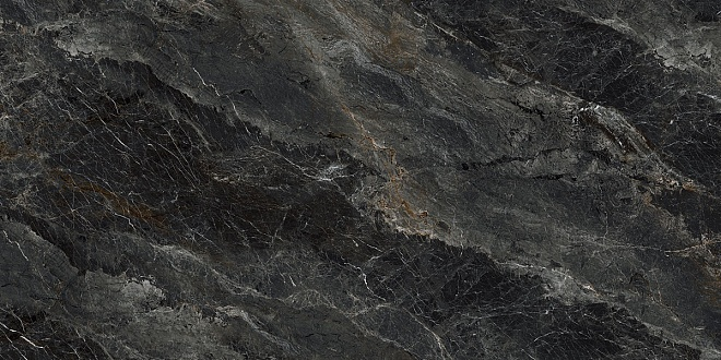 SG561802R | Риальто серый тёмный декор левый лаппатированный