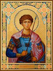 Икона Димитрий Солунский