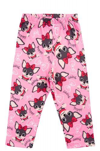 """Бриджи для девочек 8-12 лет Bonito kids """"Puppy"""" розовые"""