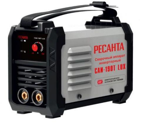 Сварочный инвертор Ресанта САИ-190T LUX