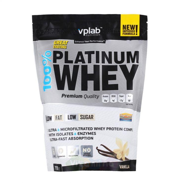 VPLab 100% Platinum Whey, 750 гр