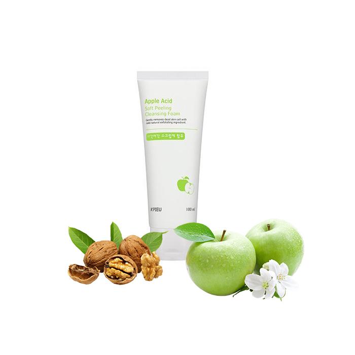 Пилинг-гель для лица яблочный A'Pieu Apple Acid Visible Peeling Gel