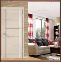 Межкомнатная дверь PREMIER 1 SoftTouch структурный Ясень капучино, стекло - Мателюкс :