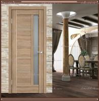 Межкомнатная дверь PREMIER 3  Дуб европейский, стекло - Мателюкс :