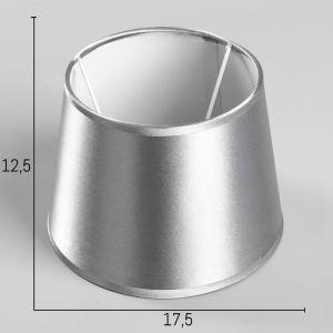 Абажур E14 серый диам 17,5  см   4415785
