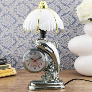 """Часы-светильник """"Флиппер"""", с будильником, 27х12 см   4523817"""