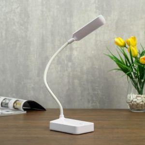 Лампа настольная 79954/1 LED 2Вт USB батарейки 3АА белый 10х7х37 см   4734819