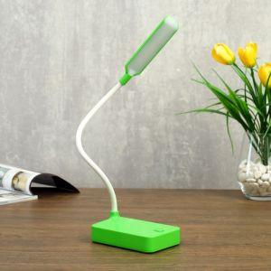 Лампа настольная 79956/1 LED 2Вт USB батарейки 3АА зеленый 10х7х37 см   4734821