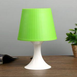 Настольная лампа 1340003 1хE14 15W зеленый d=19,5 высота 28см 4556505