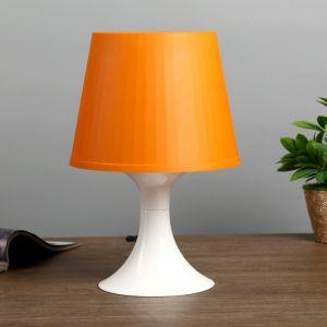 Настольная лампа 1340004 1хE14 15W оранж d=19,5 высота 28см 4556506