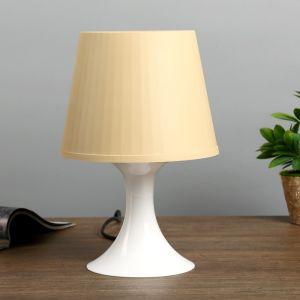 Настольная лампа 1340005 1хE14 15W бежевый d=19,5 высота 28см   4556507