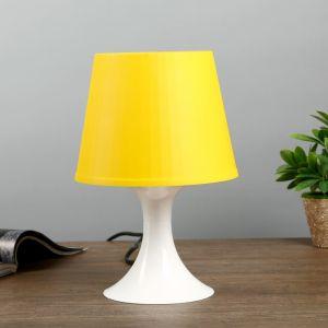Настольная лампа 1340009 1хE27 15W желтый d=19,5 высота 28см   4556510