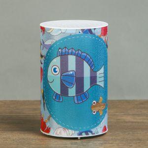 """Ночник пластик """"Подводный мир"""" от батареек CR2032х1 7,1х7,1х11,3 см   3746962"""