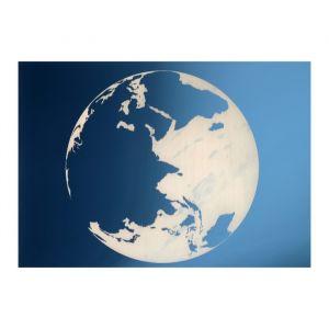 Зеркало декоративное «Планета Земля», с лазерной гравировкой, 21?30  см   4301433