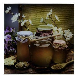 "Картина на стекле ""Натюрморт с мёдом"""