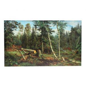 Картина на холсте «Лесок», 60 ? 100 см