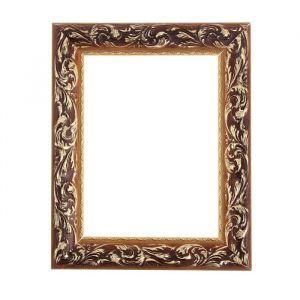 Рама для зеркал и картин из дерева, 18 х 24 х 4 см, цвет золотой