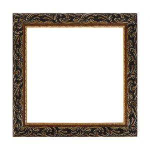 Рама для зеркал и картин из дерева, 30 х 30 х 4.0 см, цвет золотой